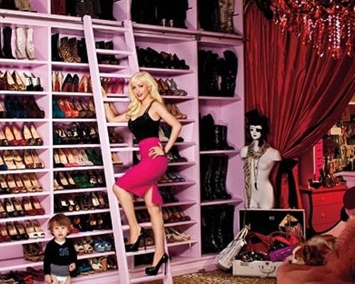 好莱坞女明星衣柜 怎一个奢侈了得?