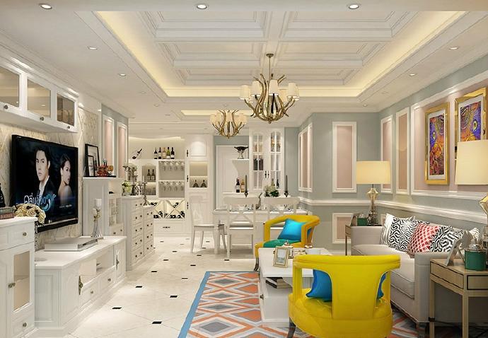 让卧室空间看起更敞亮的设计